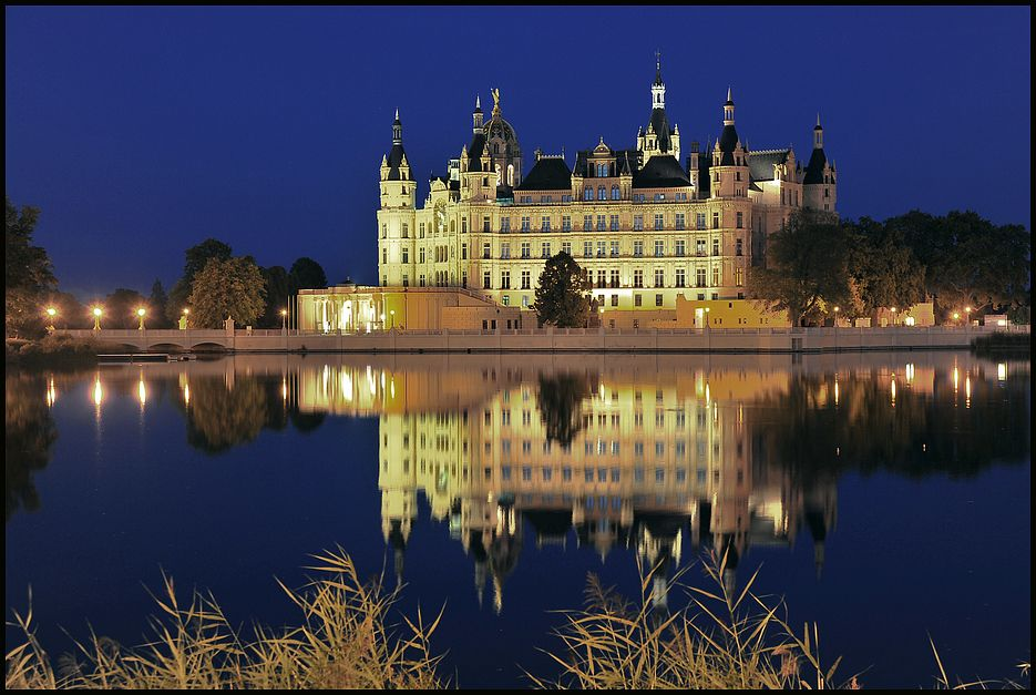 Germany, Mecklenburg-Vorpommern, Schwerin Castle, Theatre and ...