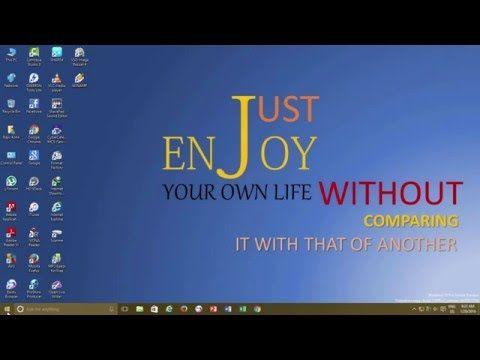 Diplay Your Name on Taskbar | Windows 10 Taskbar