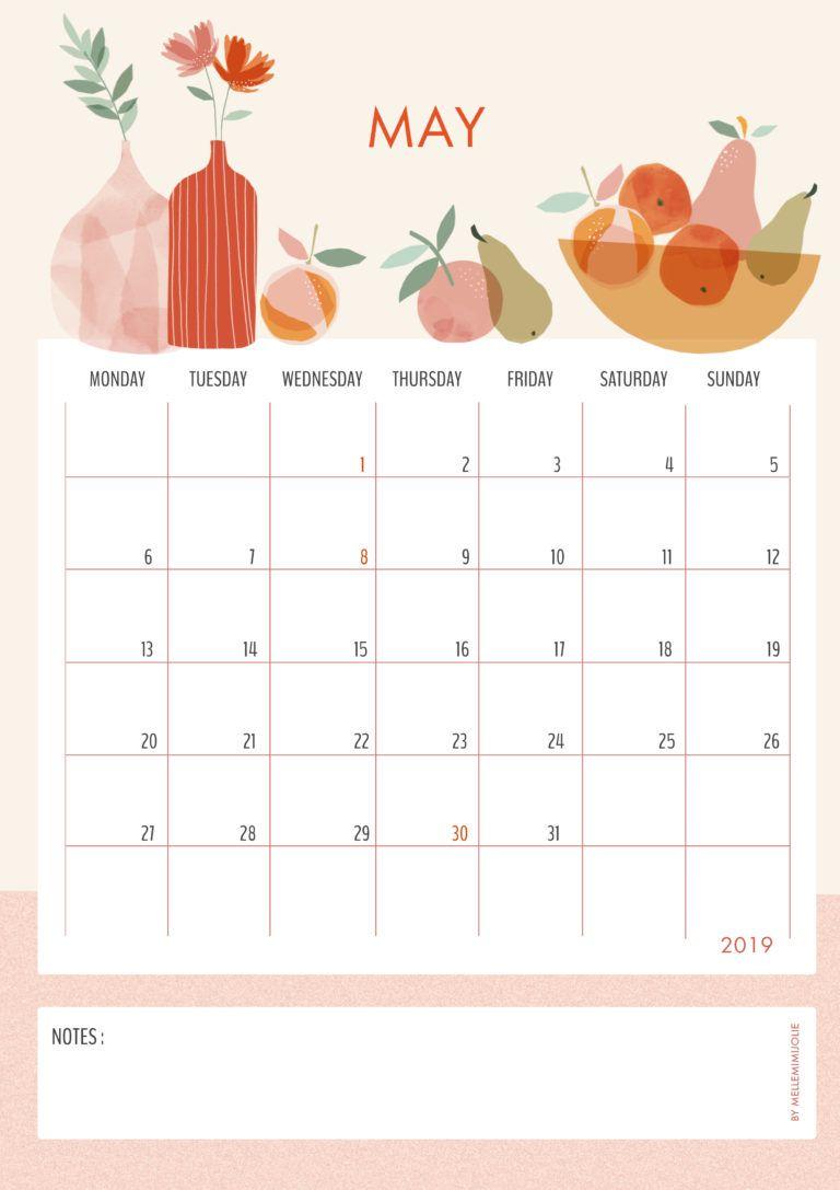 FRUIT AND FLOWER: le calendrier de Mai | MelleMimijolie | Fruit