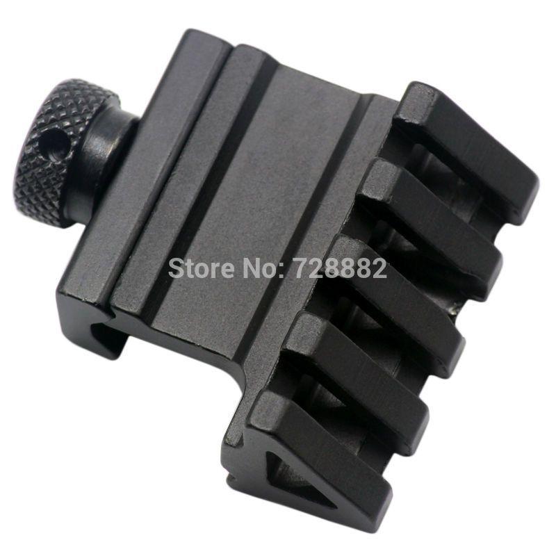 Hunting 45 Degree Angle Offset Side 4 Slot Mount 20mm Picatinny Weaver Laser Scope Rail Mount Base Adapter #Affiliate