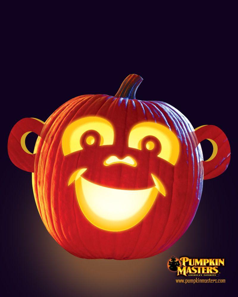 Going Ape Pattern From The Pumpkin Masters Creature Feature Kit Halloween Stencils Halloween Jack O Lanterns Pumpking Carving