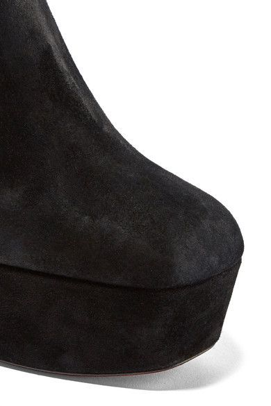 4152a383ac9 Christian Louboutin - Protorlato 110 suede platform ankle boots ...