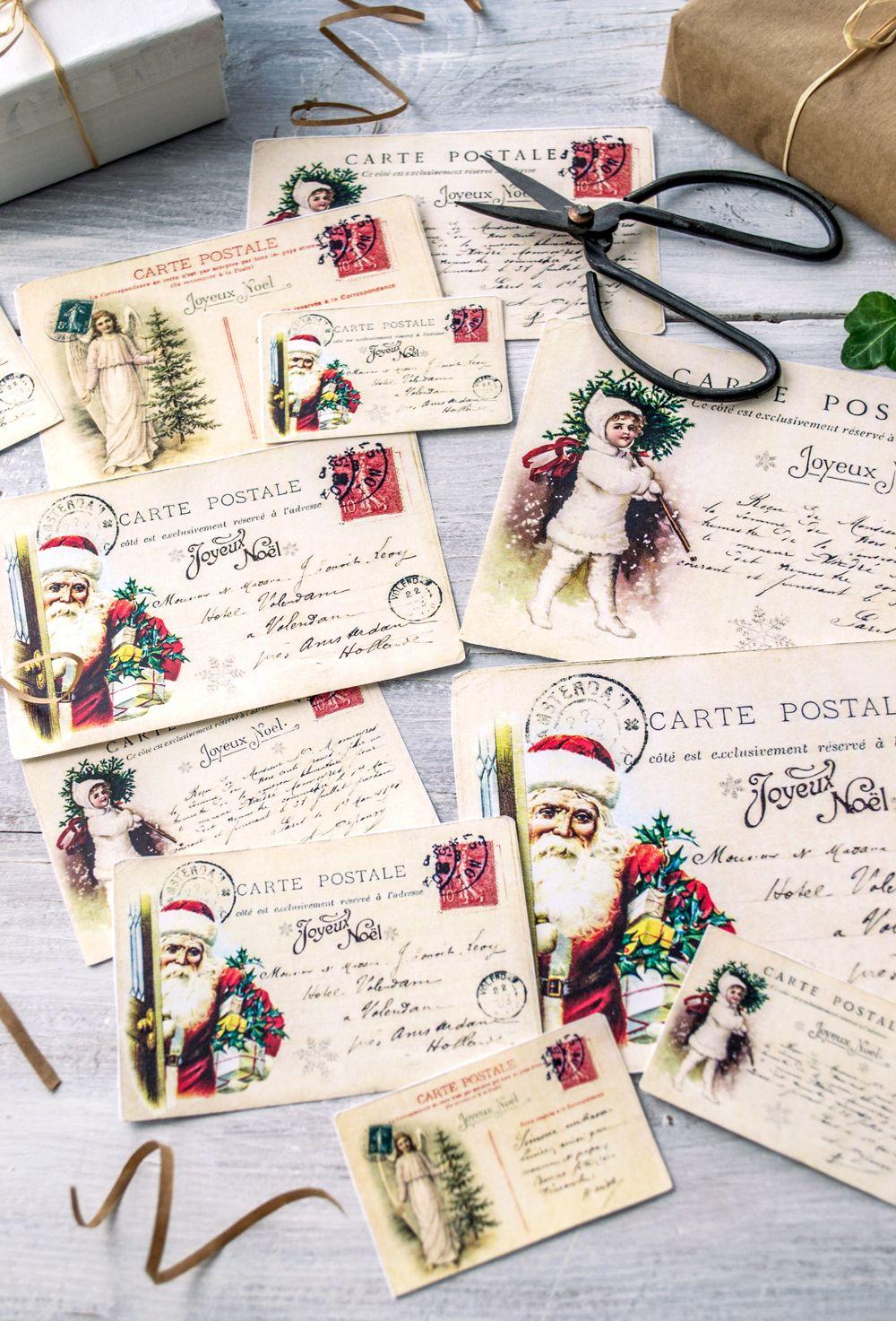 free christmas postcards