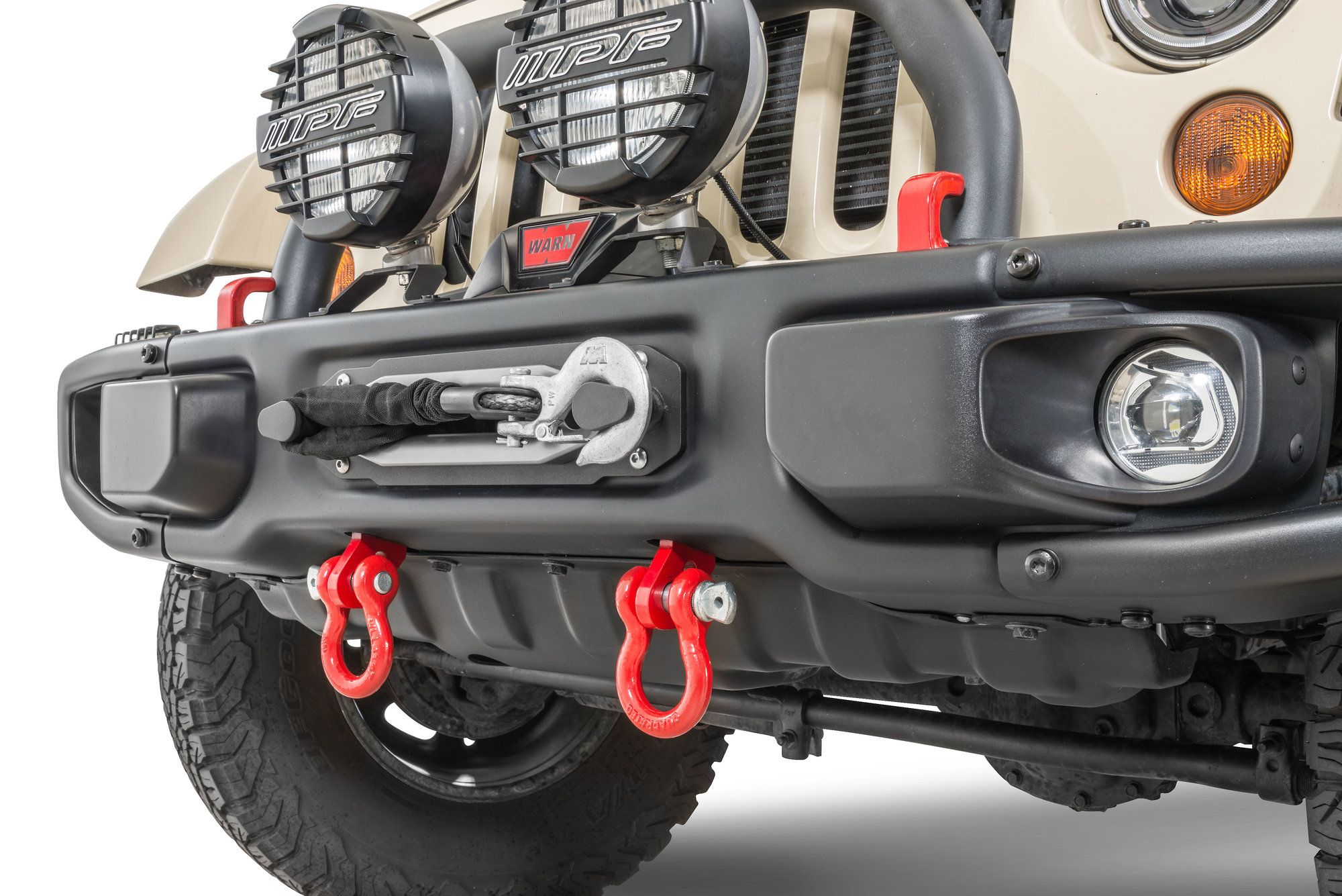 Maximus 3 Jk Front D Ring Tow Loops Are Machined From Thick
