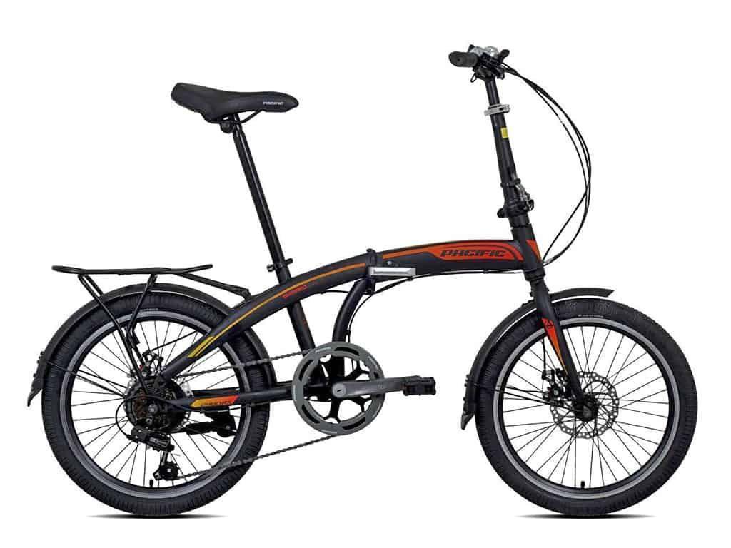 Sepeda Lipat Pacific 2980 Rx 5 0 Disc 20 Di 2020 Sepeda Black Pink Gambar