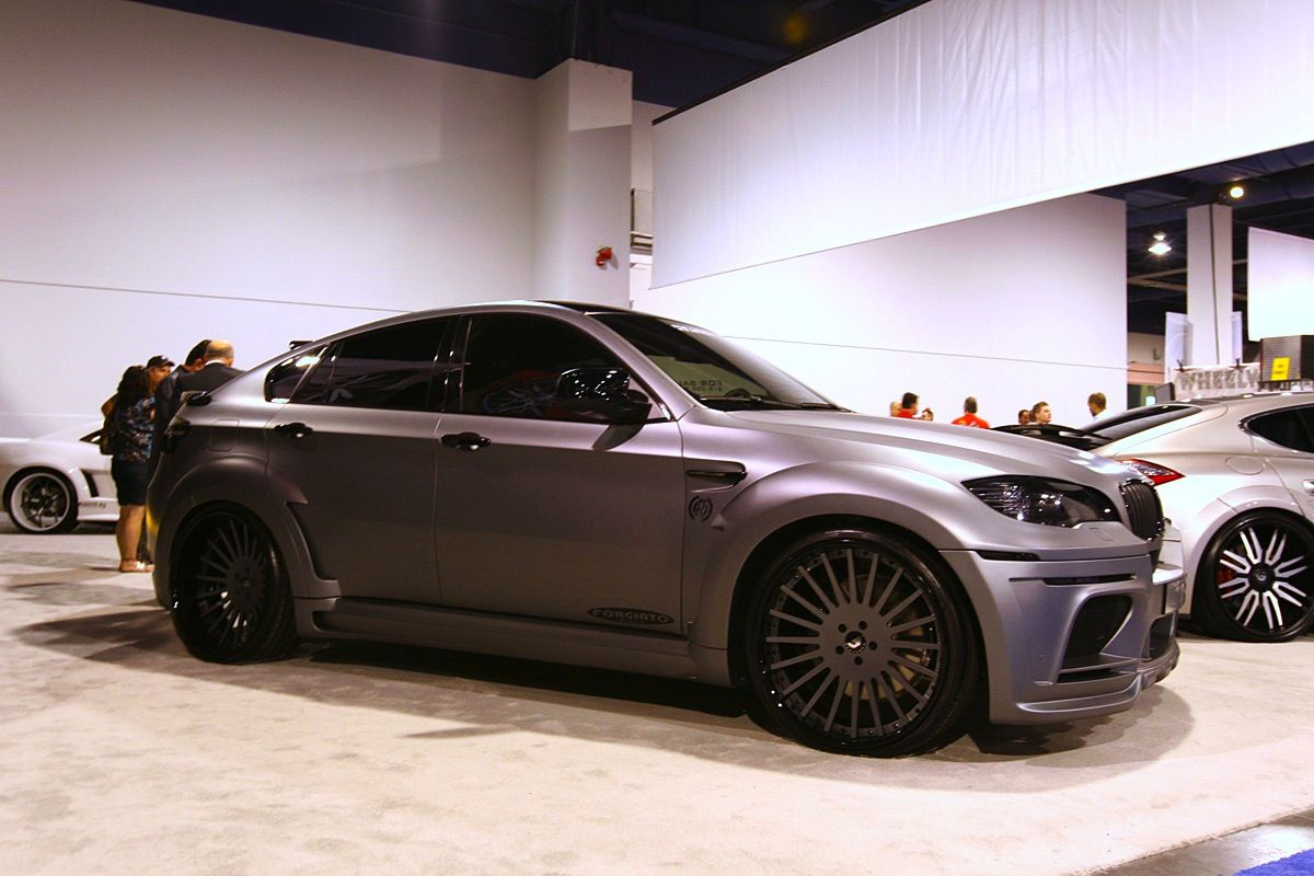 Forgiato wheels 2010 sema show matte bmw x6
