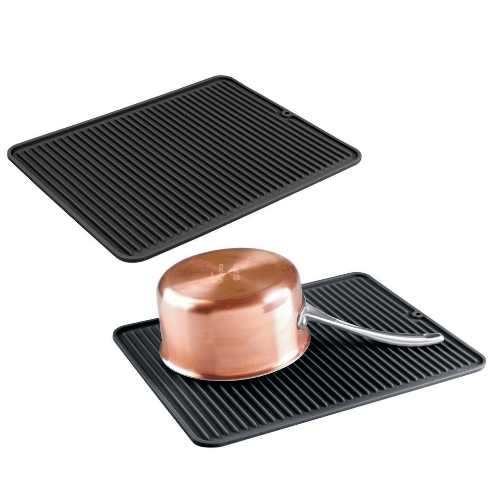 Large Silicone Kitchen Counter Drying Mat Protector Silicone Kitchen Kitchen Counter Kitchen Countertop Storage