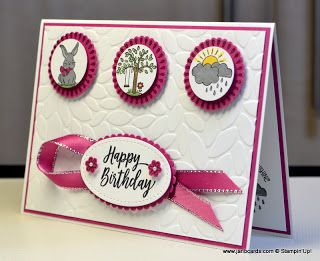 JanB Handmade Cards Atelier: A Good Day with Berry Burst