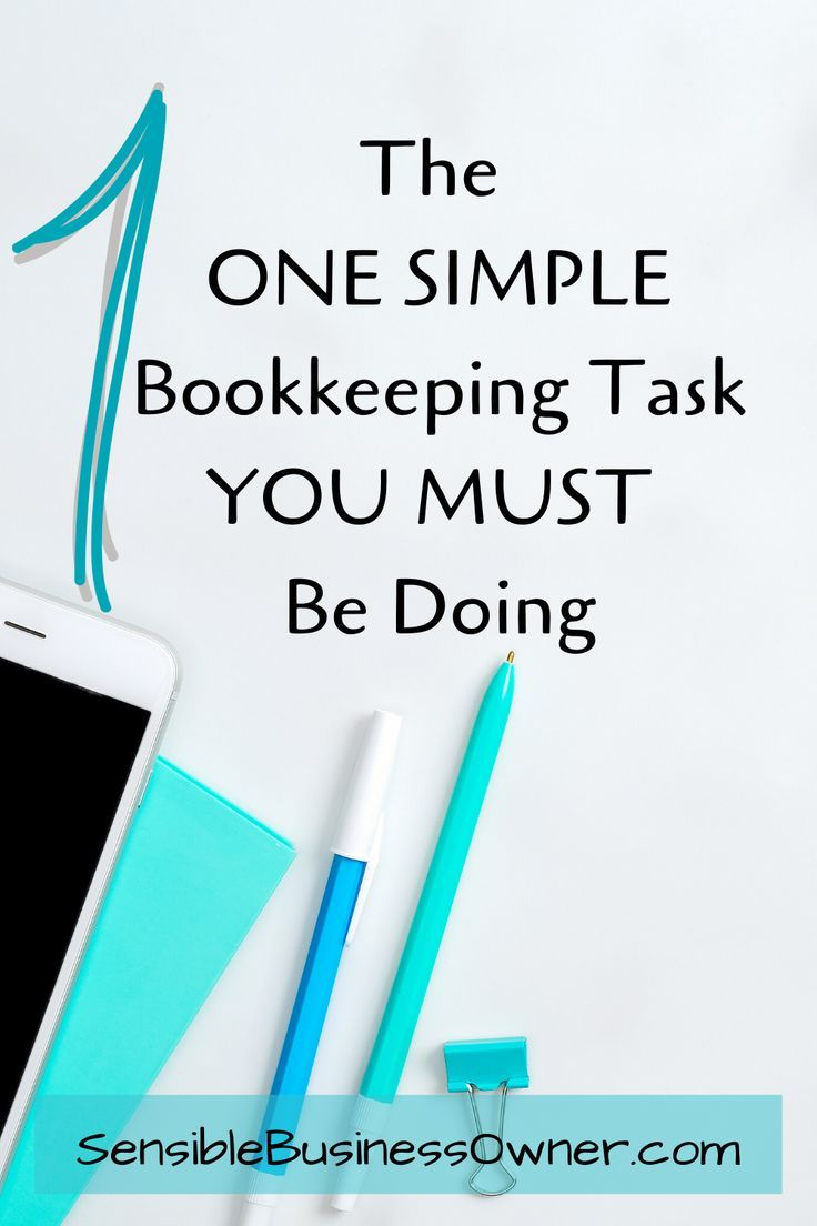 1 Most Commonly Missed Bookkeeping Task The Sensible