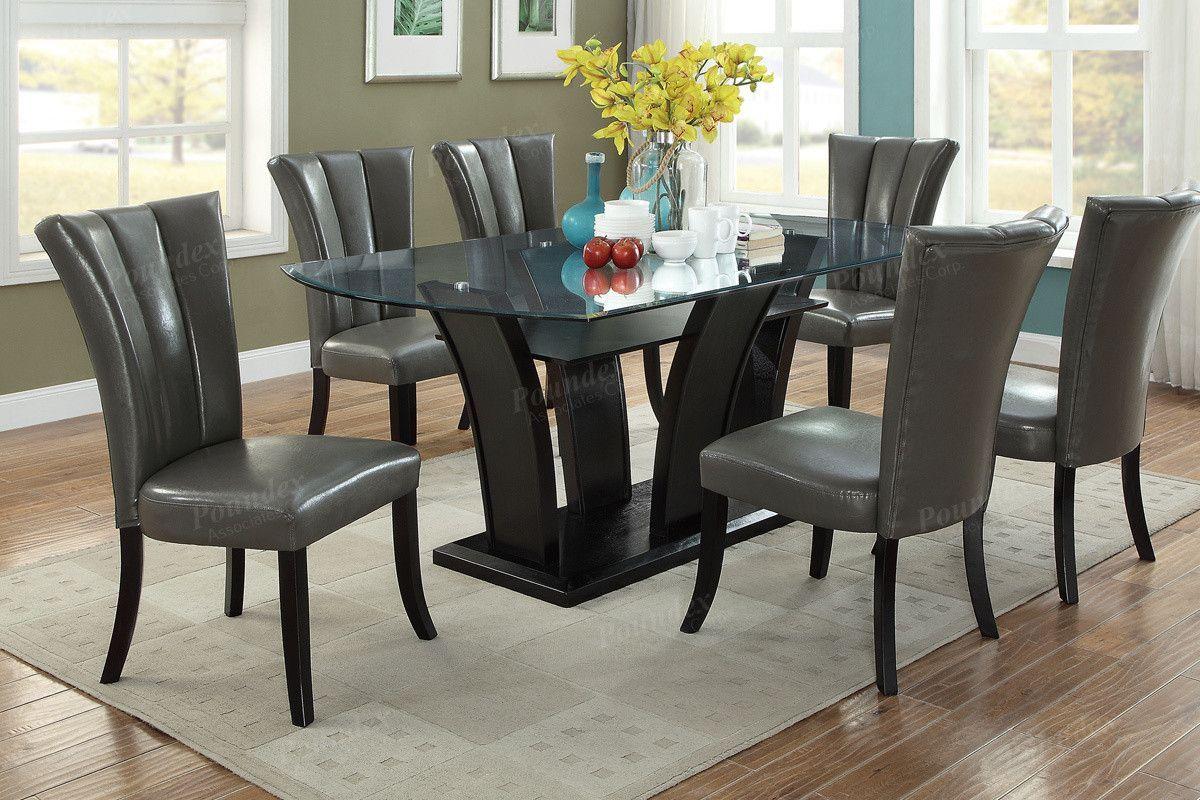 Poundex Arm chair u0026 Dining chair F1592