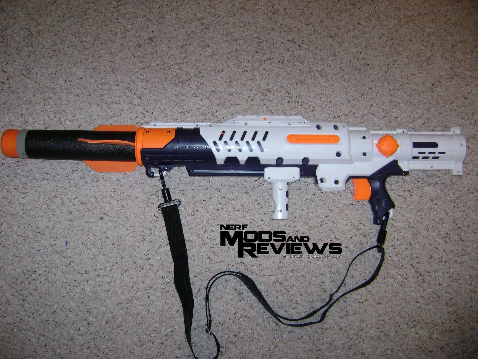 nerf rpg | Nerf Mods and Reviews: Nerf Hydro Cannon Mod