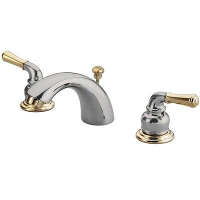 Photo of Elements of Design Widespread faucet Bathroom Faucet with Drain Assembly | Wayfair