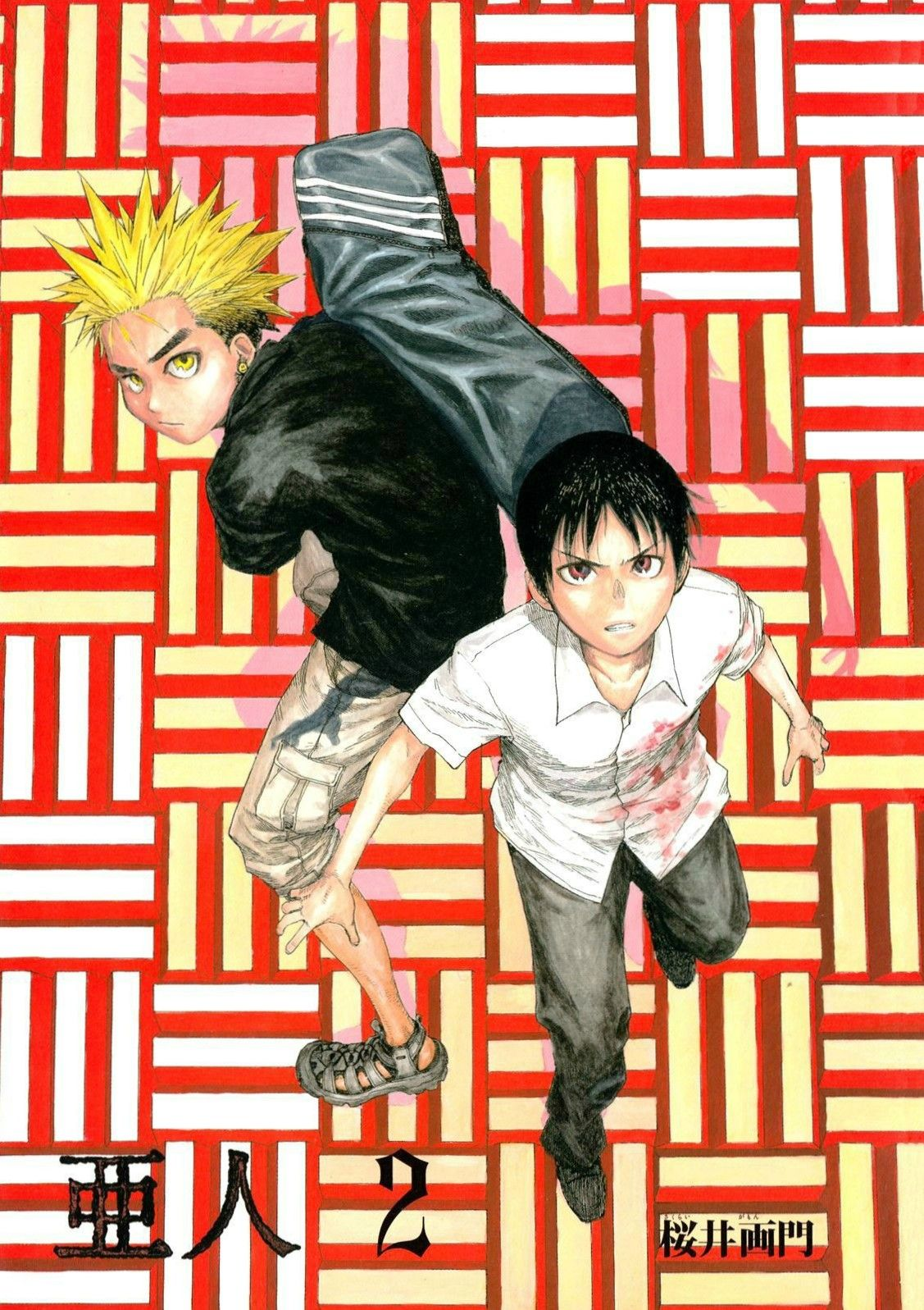 Ajin Kei and Kaito Ajin, Ajin manga, Ajin anime