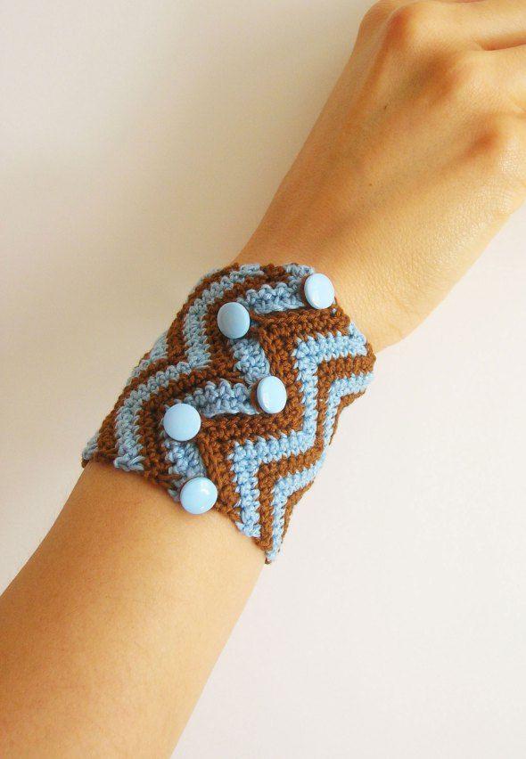 DIY zigzag bracelet/ Hazlo tú mismo, pulsera zig-zag | Proyectos que ...