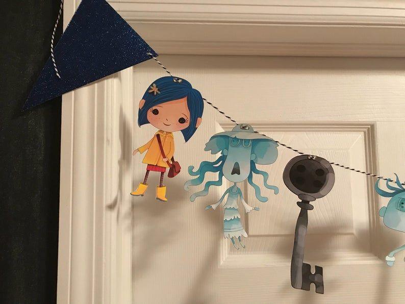 Cute Coraline Character Clipart Instant Download Png File 300 Dpi Vozeli Com