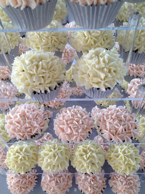 bridal shower cupcakes wedding tower garden themed wedding shower wedding cupcakes black