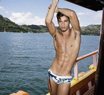 Hot male model pablo morais version