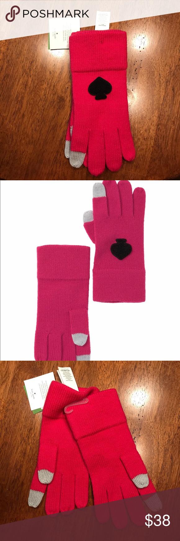 Kate Spade Tech Gloves In 2020 Tech Gloves Touch Screen Gloves Kate Spade