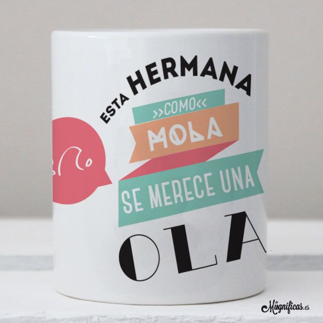 Tazas para regalar dise os originales - Regalo original hermana ...