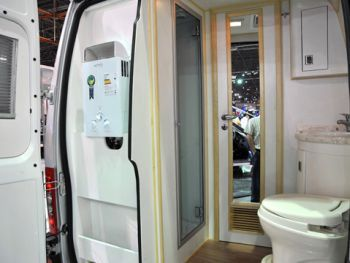 RV Shower Stall with Toilet | Fiat Automóveis has brought a ...