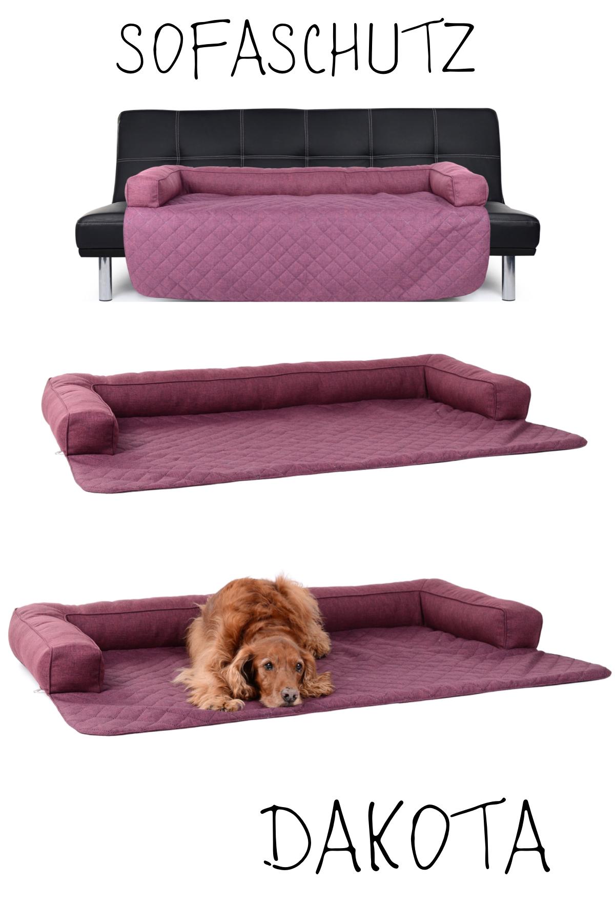 Hunde Sofaschutz Decke Dakota Softline 100x100 Cm Violett Hundeprodukte Sofaschutz Hund Sofa