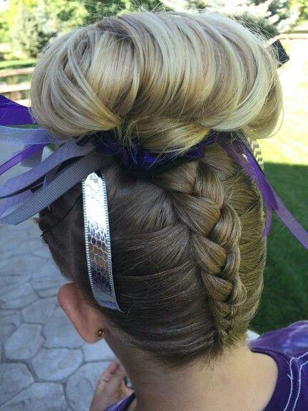 Gymnastics Hair Braids Hair Gymnastics Hair Hair