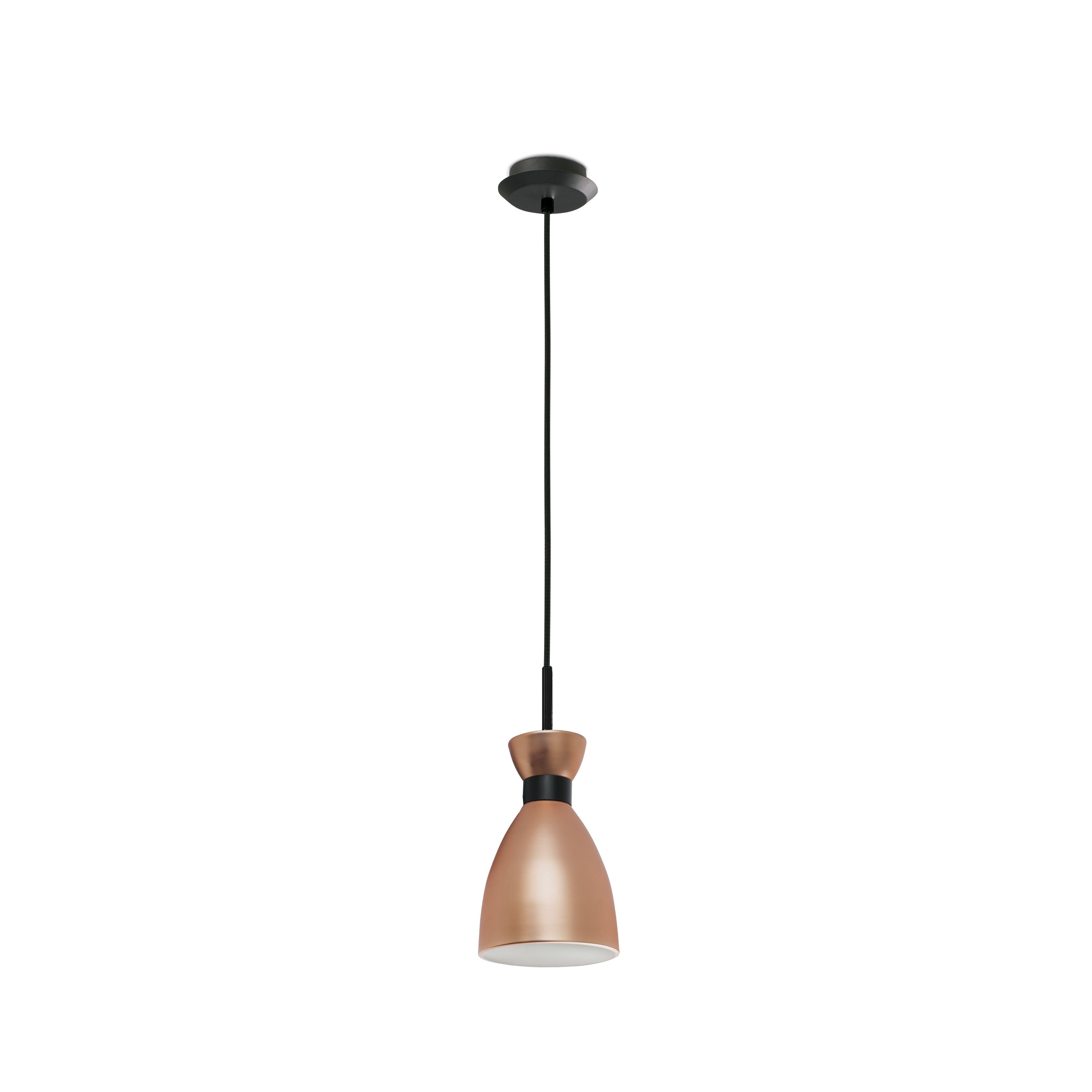 Retro copper by alex u manel lluscà design pendant lamp copper