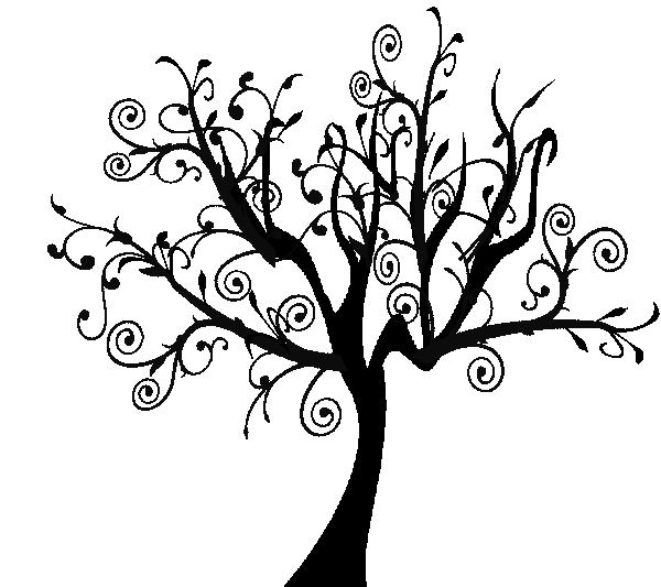 Free Online Swirl Clipart Swirl Tree Clip Art