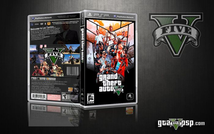 gta 5 rar file download for ppsspp
