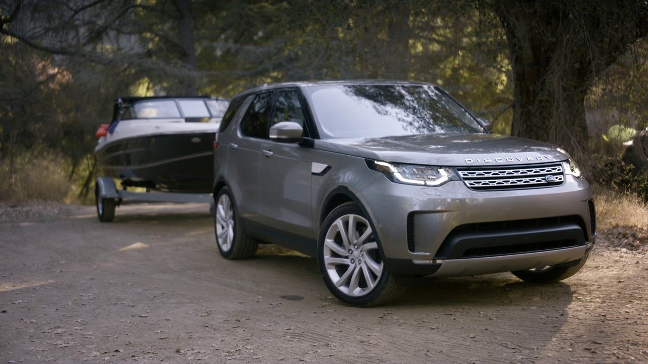 Land Rover Discovery With Advanced Tow Assist Land Rover Discovery Land Rover New Land Rover Discovery