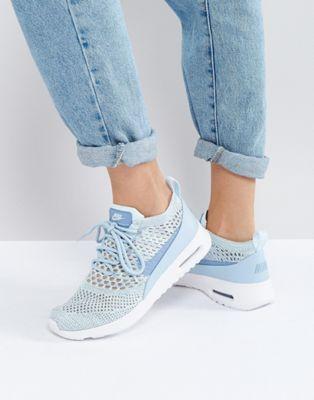 zapatillas nike azul claro