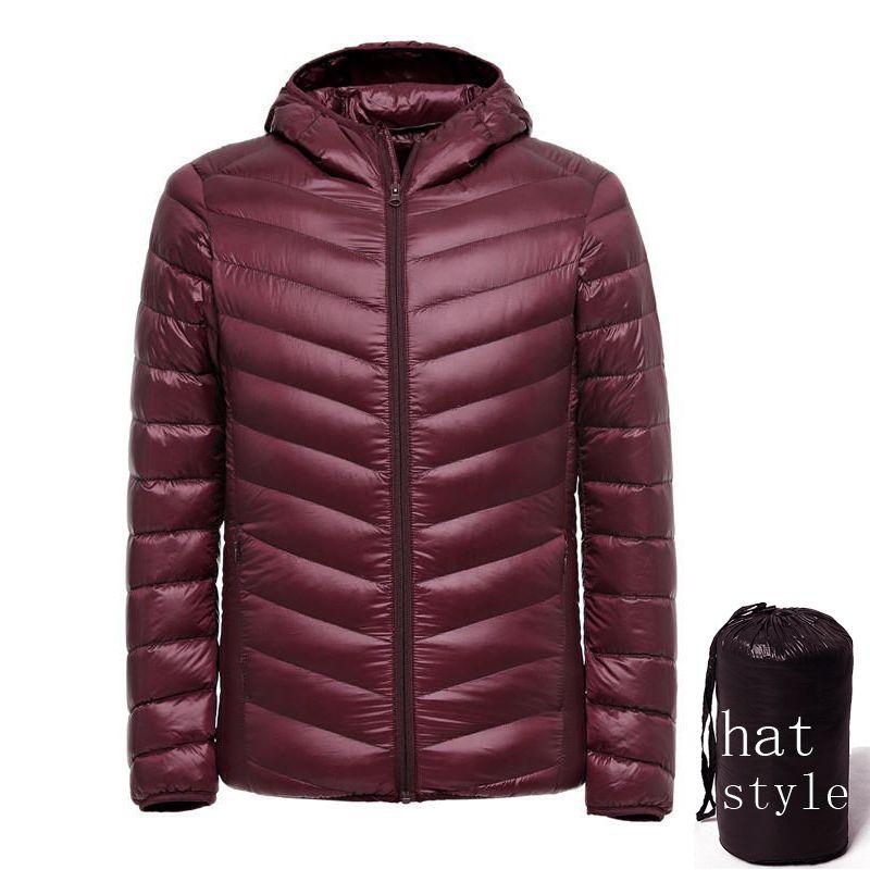 Winter Ente Daunenjacke ultraleicht Männer 90% Mantel Wasserdicht Unten Parkas Mode herren Oberbekleidung mantel 5011