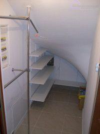 Zabudowa Wneki Pod Schodami Zabiegowymi Z Powodzeniem Przeksztalcilem Niewielkim Kosztem Nieus Stairs Design Loft Storage Home