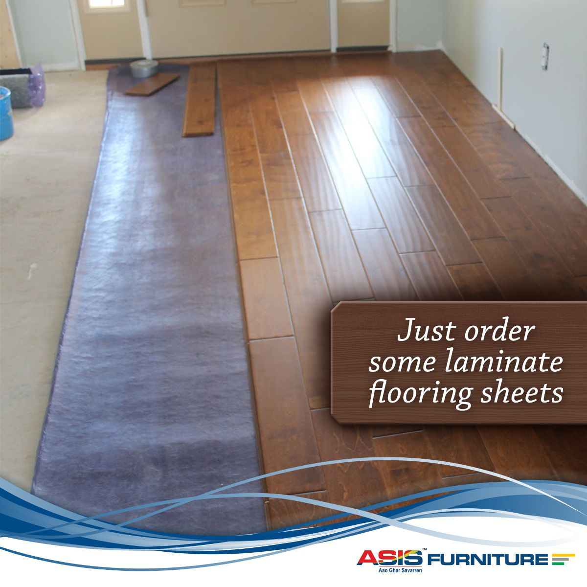 Glue Less Laminate Floating Floors That Can Be Installed By Homeowners Themselves As They Are Easier