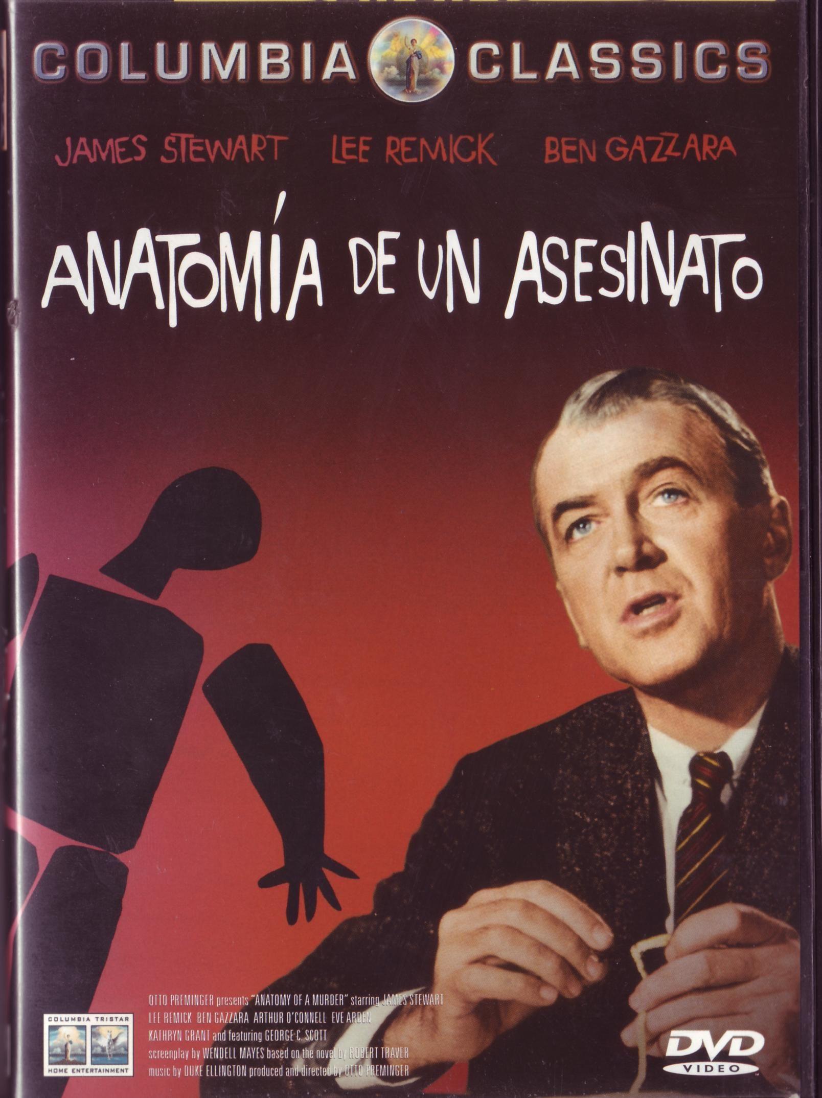 Anatomía de un Asesinato | Derecho y Justicia | Pinterest | Anatomía ...
