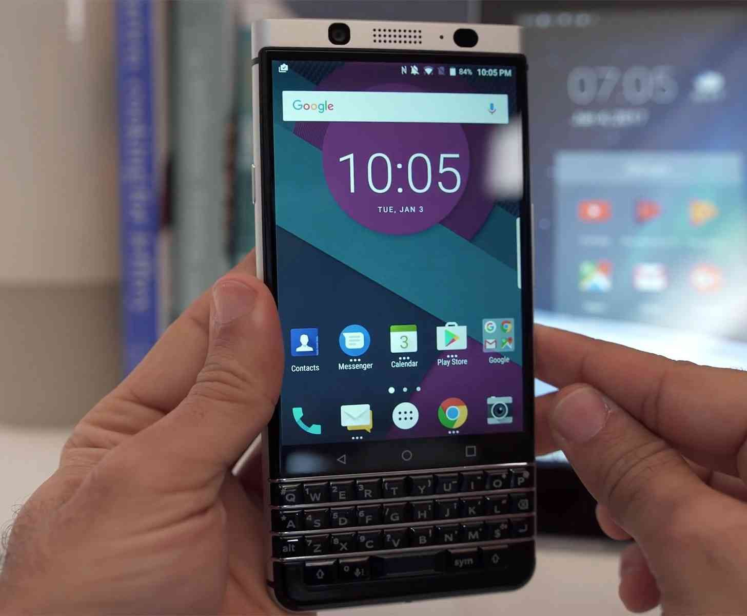 Uncategorized www google com br google chrome android - When Tcl Officially Revealed The Blackberry Keyone Last Month It Said That The Keyboard Clad Android Phone Would Launch In April