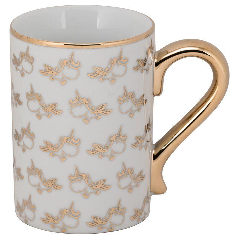 Check Out This Sassy Gold Unicorn Mug Mugs Unicorn Gifts