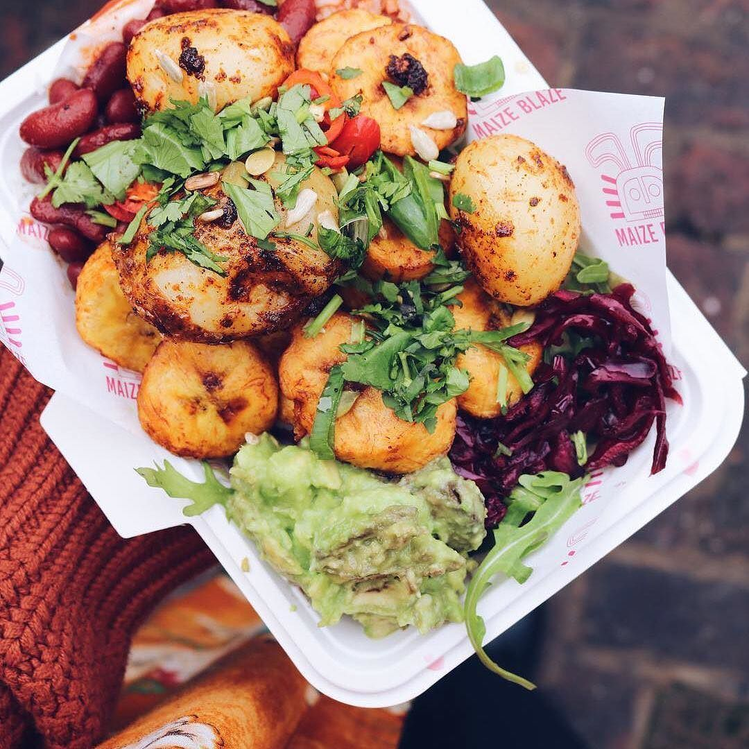 Our Sweet Fried Plantains Are Kinda A Big Deal Thank You Ellalunamaria For This Photo Foodspi Sweet Fried Plantains Plantains Fried Vegan London
