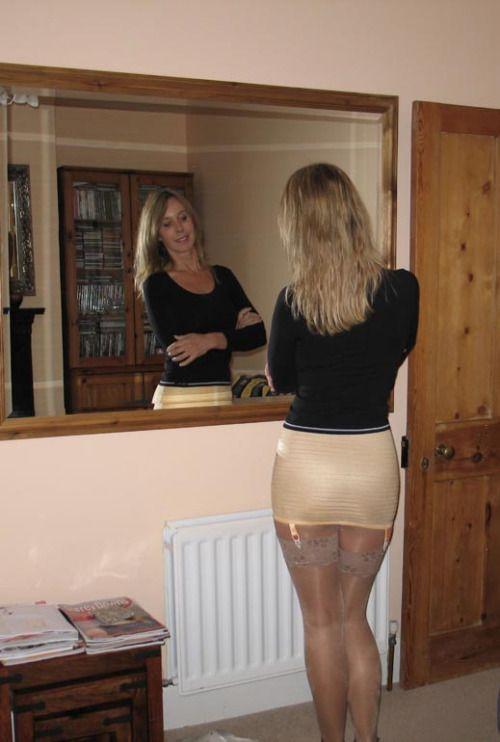 Jane warner strip and pose