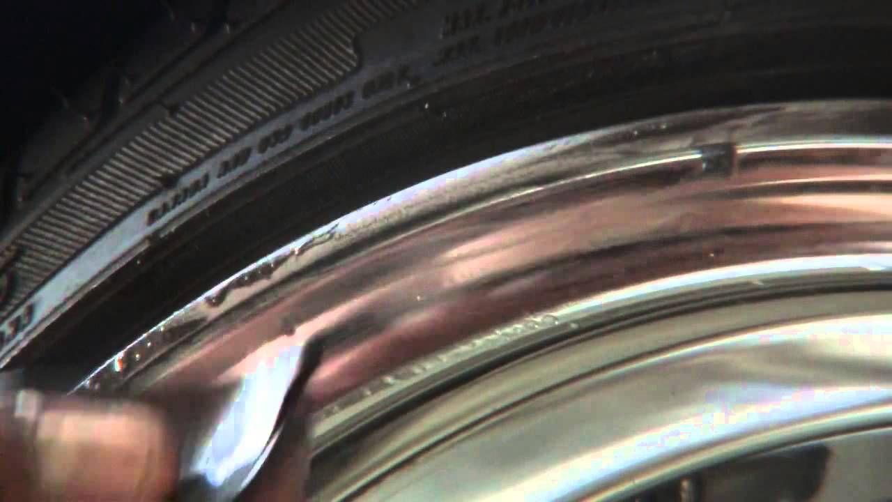 DIY Minor Curb Rash Alloy wheels repair, Rim repair