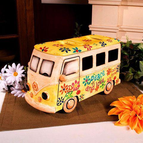 Volkswagen Bus Cookie Jar Baubles N