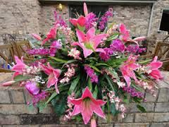 How To Make Headstone Flower Arrangements Google Search