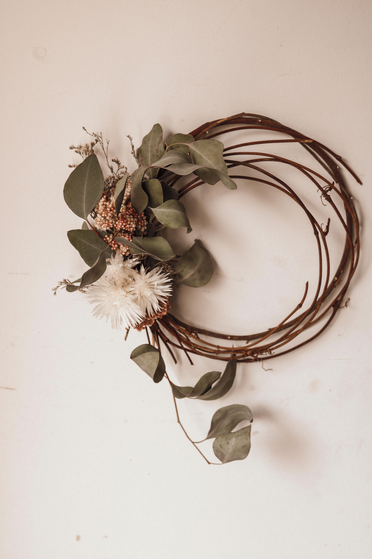 #wreath #diywreath #driedflowers