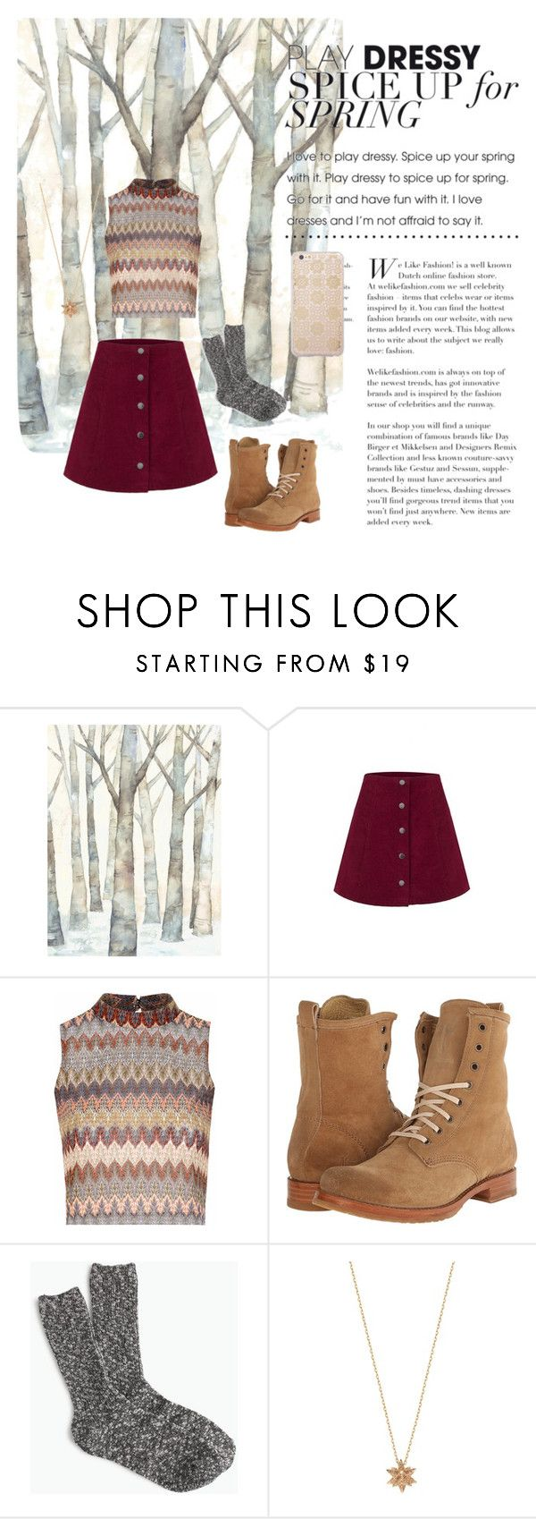 """""""Untitled #60"""" by kayleigh-kester ❤ liked on Polyvore featuring Glamorous, Frye, J.Crew, Noor Fares and Sonix"""