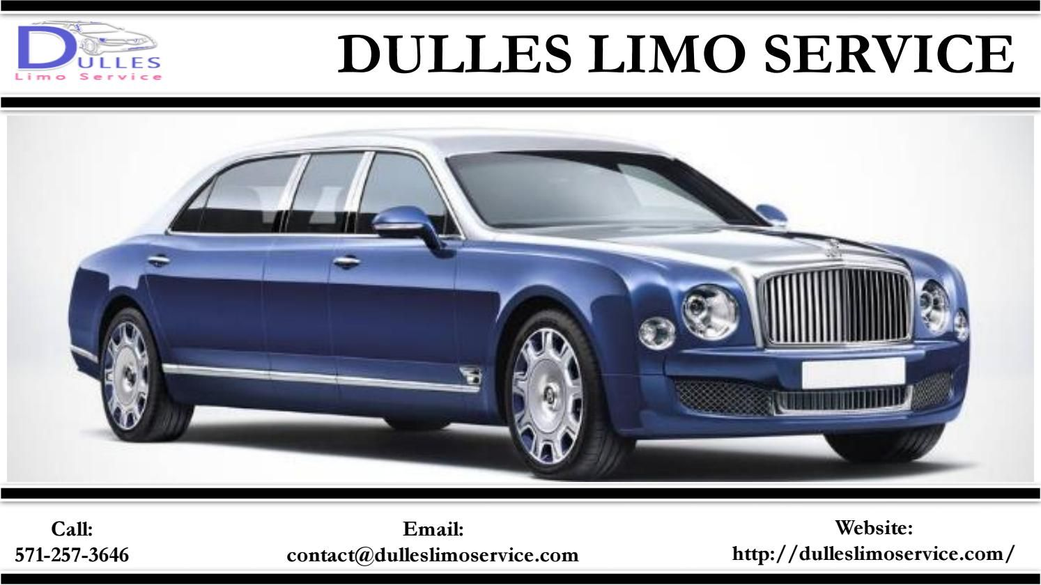Dulles Limo Service Provides Reliable Transportation For All Kinds Of Special Events Bentley Limousine Limousine Limousine Car