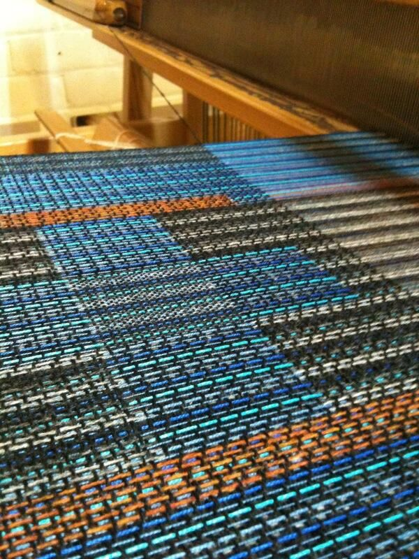 Twitter / bitcraftlab: Funky colors on the weaving ...