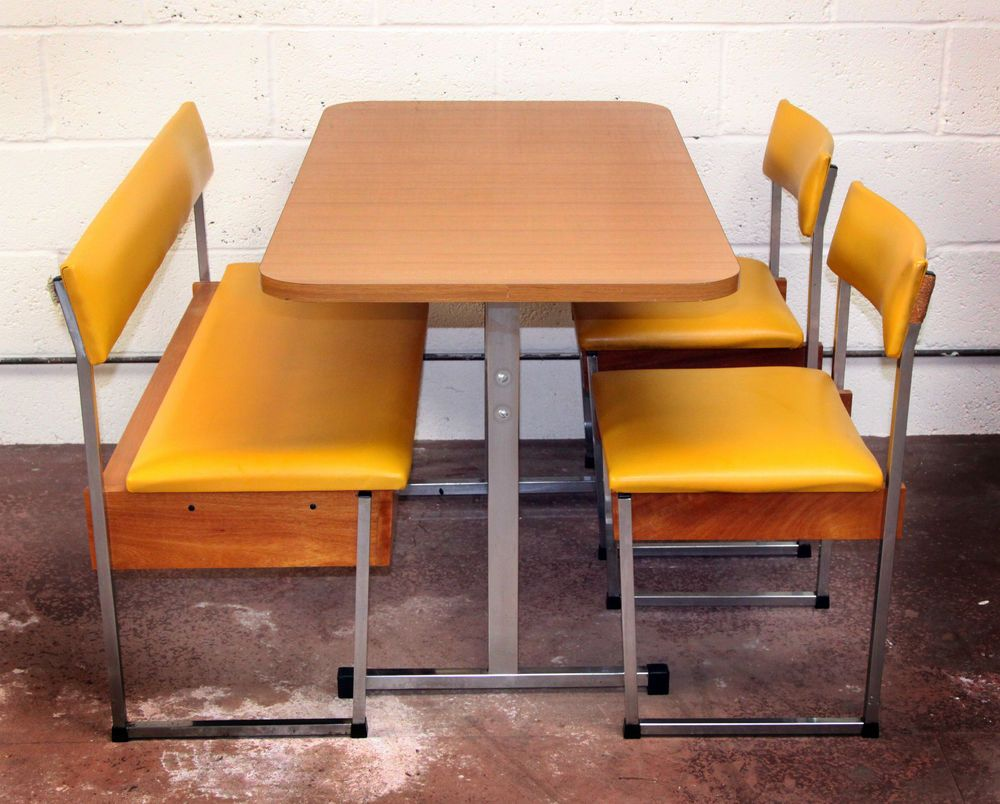 vintage 70s furniture. Genuine Vintage/Retro American Style Diner Set 60s/70s Bench, Table \u0026 Two Vintage 70s Furniture S