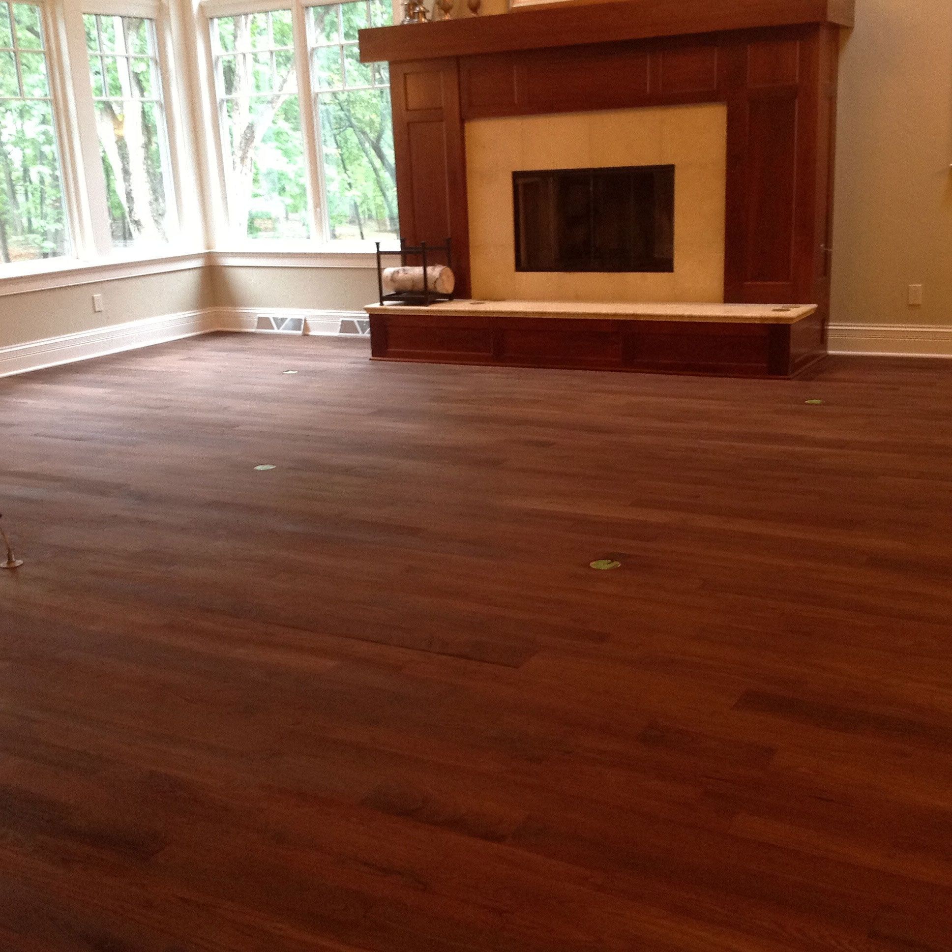 Water Stain On Hardwood Floor: Stain Trial Completed For General Finishes Water Based