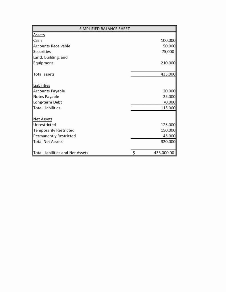 Nonprofit Financial Statements Template Report For Non