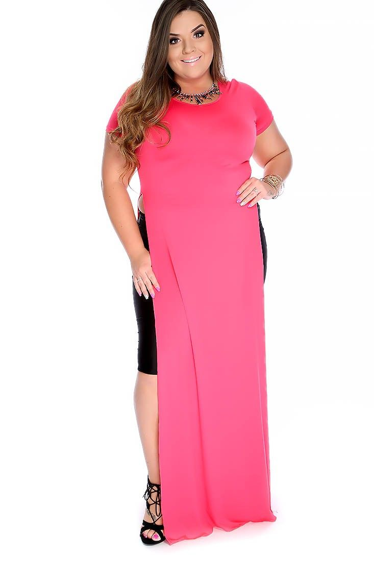 Be summer ready with this sexy party dress plus size featuring bold
